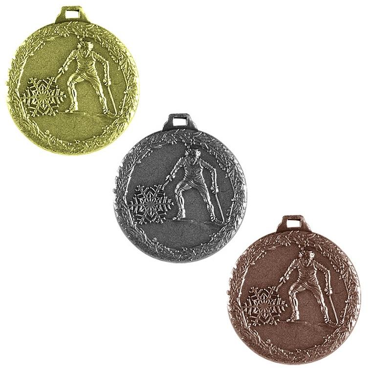 Tre medaljer på rad